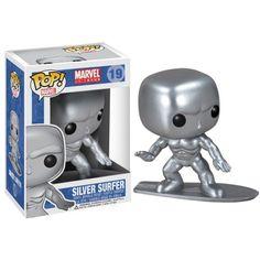 Funko Pop Marvel silver surfer