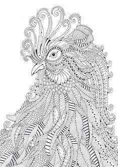 Bestiaire extraordinaire : 100 coloriages anti-stress: Amazon.de: Hannah Davies, Richard Merritt, Cindy Wilde: Fremdsprachige Bücher. Coloring pages for grown ups