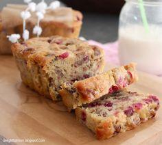 Delightful Mom: Cranberry Nut Bread