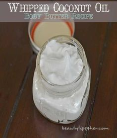 Homemade Whipped Coconut Oil Body Butter Recipe | Beauty and MakeUp Tips
