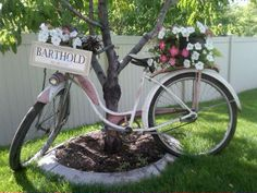 Heather's wedding.  Vintage bike
