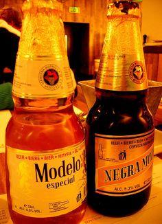 Modelo Beers by scottyboylamont, via Flickr
