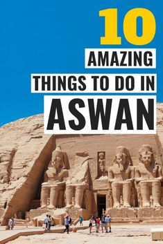 The 10 best things to do in Aswan, Egypt. This is a detailed Aswan travel guide with the top tourist attractions and landsmark in Aswan. Plan your perfect Egypt itinerary. Zoo Park, Egypt Travel, Africa Travel, Egypt Wallpaper, Egypt Crafts, Hurghada Egypt, Kairo, Prince Of Egypt, Visit Egypt