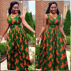 Try out this amazing beautiful Ankara dress we have for you ,This specially Ankara dress we selected for you will make you look Fabulous and stand out in any Occasion or Event ,you Lady of styles attend. Latest African Fashion Dresses, African Dresses For Women, African Print Dresses, African Print Fashion, African Attire, Modern African Dresses, Traditional African Clothing, Ankara Designs, Ankara Gowns
