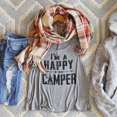 Ordered it, all I can say is worth it! Happy Camper Tank, Sweet Graphic Tees & Tanks from Spool 72. | Spool No.72