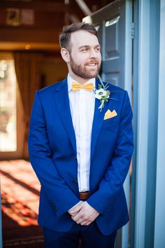 Wedding blue suit bow tie groom outfit 59 Ideas for 2019 Blue Suit Wedding, Pink Wedding Shoes, Wedding Suits, Wedding Attire, Trendy Wedding, Floral Wedding, Dream Wedding, Wedding Dress, Groom Ties