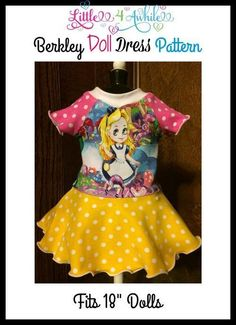 (9) Name: 'Sewing : Berkley Doll Upcycle Pattern