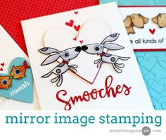 Mirror image stamping with the Misti stamp tool. Catch Jennifer McGuire's full video here!