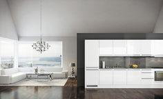 Kitchen Interior, Kitchen Design, Flat Screen, Kitchens, Fredrikstad, Home Decor, Google, Model, Blood Plasma