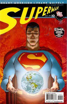 PIPOCA COM BACON I As Várias Faces do Superman -  All-Star (2005) I #PipocaComBacon #AllStar #AllStarSuperman #ClarkKent #DCComics #FrankQuitely #GrantMorrison #Quadrinhoss #Superman #Zibarro