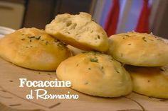 Ricetta Focaccine al rosmarino - I menù di Benedetta