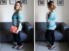 Black Leggings & a Boxy Shirt #style #fashion #outfit #ootd #fashionblog #fblogger #fblog #fashionblogger #outfitidea