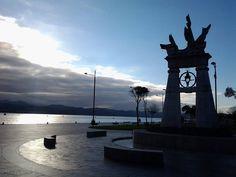 18/12/14: Luces de una tarde de diciembre en el Paseo Marítimo.