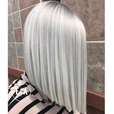 """2,773 Likes, 62 Comments - Arizona Hairstylist (@emilyandersonstyling) on Instagram: """"@kenraprofessional Ice ice baby. Blunt and Icey is the name of the game. @uberliss is our best…"""""""