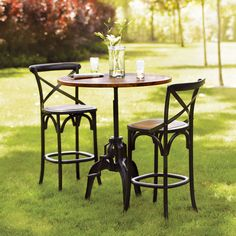 Bistro Tables And Chairs Chair Covers For Kitchen Table 104 Best Images Cafe Get Edison Tall Bar