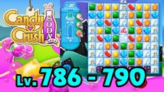 Candy Crush Soda Saga - Level 786 - 790