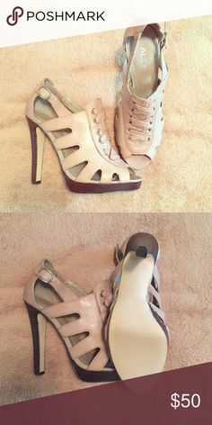 "Aldo ""Seppa"" taupe sandals Aldo ""Seppa"" taupe sandals worn once great condition Aldo Shoes Sandals"