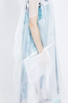 Amelie Bahlsen S/S 2015 sheer organza dress