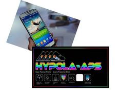 iPhone 5 & 5S  Neon Screen Protector 8 H PMMA Flim Sheet By HYPOLA-APS #hypolaaps