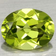 AUGUST Peridot is the August birthstone.