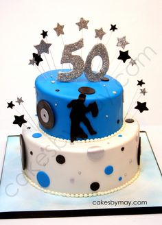 Great 50th Birthday Cake For Your Party At PowerPlay Adult Kansas City