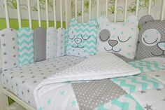 Baby Sheets, Baby Bedding Sets, Cot Bedding, Baby Bedroom, Girls Bedroom, Mini Cama, Baby Bumper, Big Pillows, Baby Nest