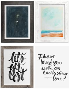 Minted art -- DIY ha