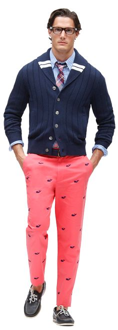 "I need a new, great preppy ""go to hell""  spring outfit. Done and done!!"