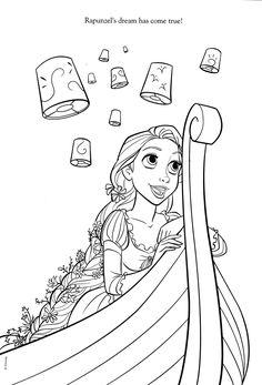 Rapunzel Boyama Sayfası Ile Ilgili Görsel Sonucu Masa Disney