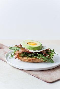 BLT + Egg and Avocado