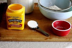 How to turn all purpose flour into cake flour. Good to know! :)