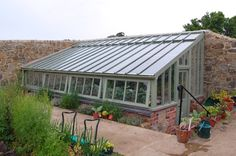 Greenhouse Designs | Pit-Style Solar Greenhouse
