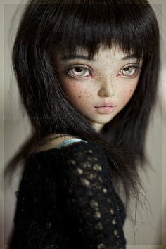 hiritai dolls | freckles by Hiritai | OOAK Dolls