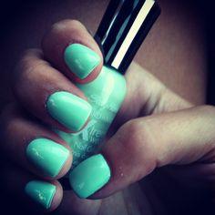 Mint nail polish#Repin By:Pinterest++ for iPad#