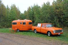2013 Alberta Omelette at Miquelon Lake 1969 Chevy Pickup