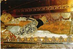 Incorrupt body of St. Vincent de Paul, Paris, France.