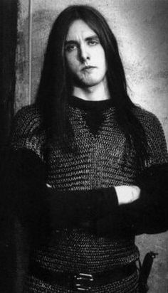 Varg Vikernes Norwegian black metal act Burzum Black Metal, Metal Bands, Rock Bands, Power Metal, Sombre, Thrash Metal, Metalhead, Death Metal, Aesthetic Photo
