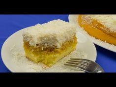 "Prăjitura ""Raffaello""- un desert fascinant ce se topește în gură! Cornbread, Vanilla Cake, Cheesecake, Deserts, Food And Drink, Sweet Stuff, Ethnic Recipes, Youtube, Italy"