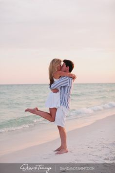 Stephanie & Will | Destin, FL Engagement Photography | David and Tammy Blog | Wedding Photographers