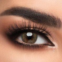 Voioc® Eye Circle Lens Real Caramel Colored Contact Lenses V6120 Dark Brown Eyes, Gray Eyes, Dark Blue, Light Blue, Green Colored Contacts, Color Contacts, Change Your Eye Color, Hazel Color, Huge Eyes