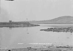 Lighthouse, Ardglass, Co. Old Photographs, Lighthouse, Beach, Water, Outdoor, Bell Rock Lighthouse, Gripe Water, Outdoors, Light House