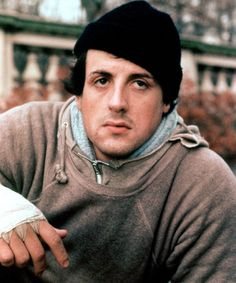 We love a good throwback, Sylvester Stallone.
