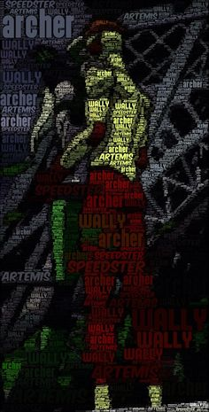 Word Art, Artemis & Wally West, Spitfire