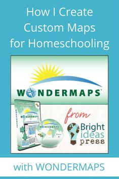 Wondermaps is an easy way to create maps for your homeschool. Customize the exact map you need for your lesson in just a few clicks! Read the full review.