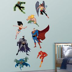 Justice League - Justice League - Heroes ... $99.99 ... would be perfect for my house :)