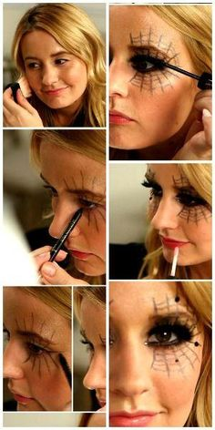 Black Widow Make Up Idea #Beauty #Trusper #Tip