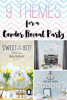 A gender reveal party is a fun way to celebrate the exciting news of whether you'll be welcoming a baby boy or girl into the family. Not finding out? These unique gender reveal party themes are great ideas for gender neutral showers, too! | kateaspen.com