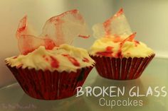 The Mini Mes and Me: Broken Glass Cupcakes