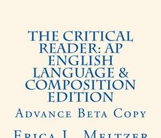 The beta version of my AP English Language and Composition book is now available