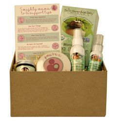 Pregnancy Gift Basket Box  Perfect congrats gift by MightyMamaShop